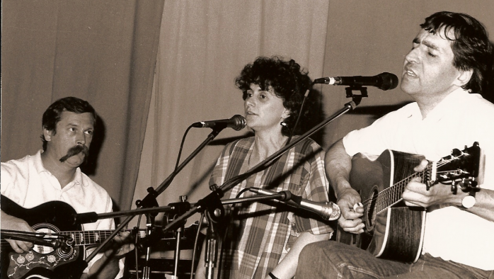 Jean-Loup Cauchy, Marie-Noëlle Després, Pierre Ménager au centre culturel du Chesnay 1991
